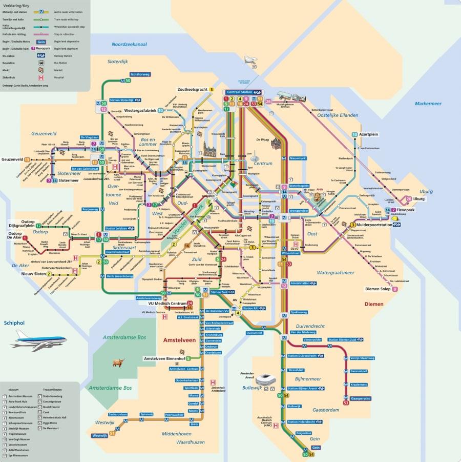 métro amsterdam