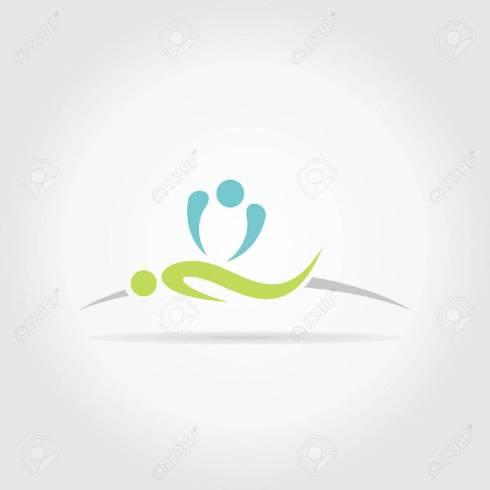 25191049-la-personne-fait-massage-une-illustration